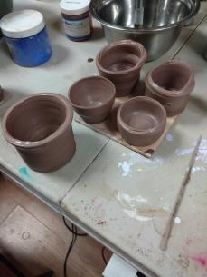 first pots